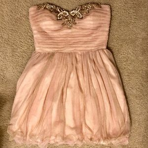 Dresses & Skirts - Blush & Beaded Party Dress